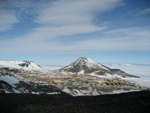 McMurdo from Hut Point Ridge