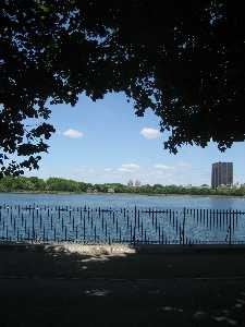Central Park Reservoir Running Track