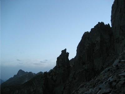 Dusky Aiguilles Rouges Peaks