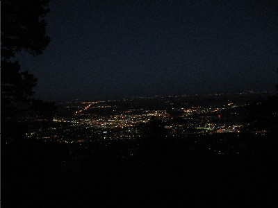Boulder at Night