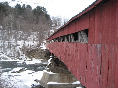 Taftsville Bridge SideView