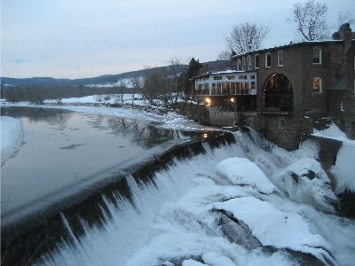 View From Quechee Bridge