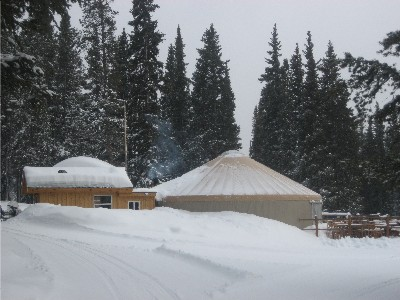 Tennessee Pass Cookhouse Yurt