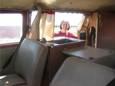 Traci\'s VW interior