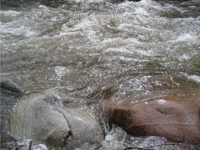 Gore Creek rocks