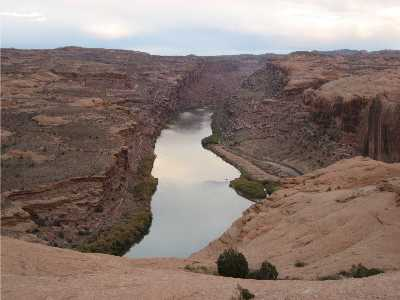 Colorado River from Slickrock