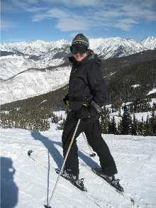shawna skiing Vail