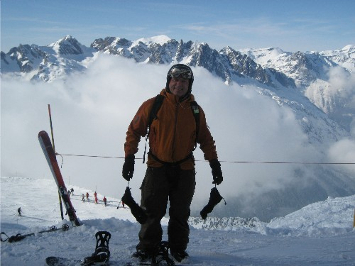 Dermot and the Aiguilles Rouges