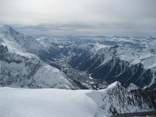 View Top of Grand Montets