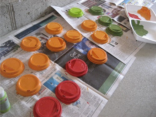 painted lids