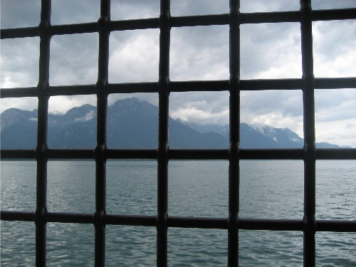 Chillon barred windows