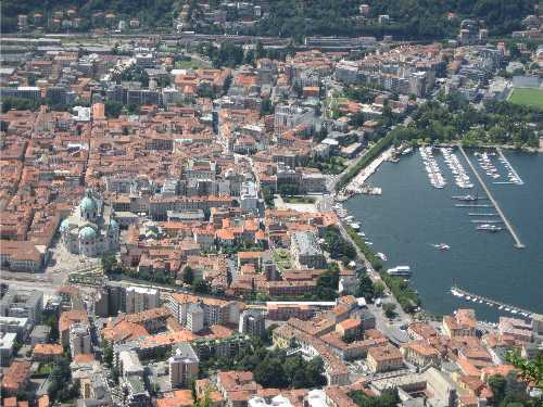 Como From Above
