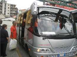 Italy Shuttle Bus