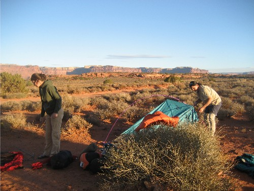 Jim Arita Tent Camp
