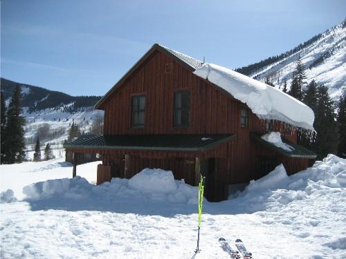 gothic hut
