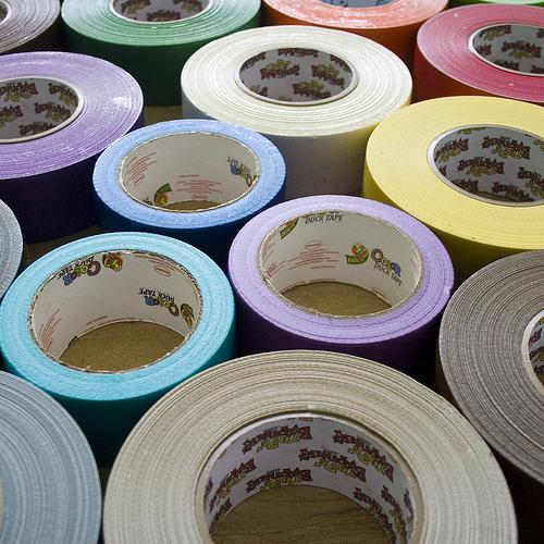Duct Tape Rainbow
