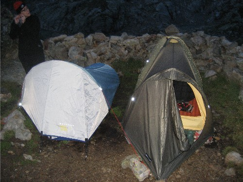 2-alpine tents