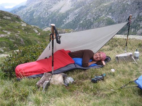 4-traci macnamara alpine bivy & bivy sack | DOWN and OUT