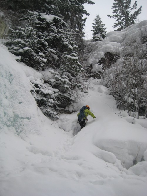 east vail ice climbing