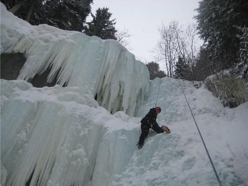 shawna macnamara ice climbing
