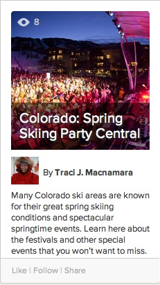 Colorado Spring Skiing Party Central