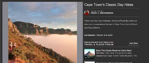 Cape Town Day Hikes
